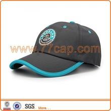 Custom design 6 panel produce travel cap