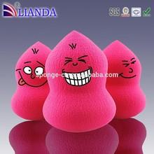 cute beauty natural makeup puff sponge/cosmetic sponges for beauty makeup