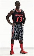 Stan Caleb hot sale camouflage basketball jersey camo basketball jersey