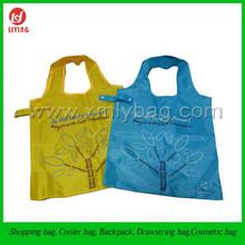 Beauty Fashion Reusable Nylon Foldable Shopping Bag