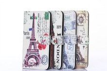 for Iphone 6 Customized mix color wallet leather cases for iphone 5s