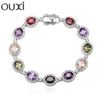 2015 young ladies jewelry made with Swarovski Element Jewelry OUXI-30250