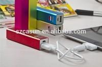 China supplier promotional portable power bank/mobile powerbank laptop powerbank 2600mah for samsung power bank