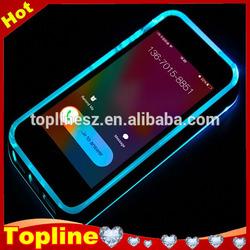 Calling Sense Flash Up Light LED Case For iPhone 6 plus, Plastic Hard Case