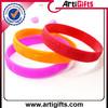 attractive design debossed oe embossed silicone bracelet