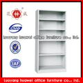 metal moderno aberto ajustável pequena estante de livros de design