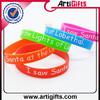 deft design cheap custom food grade silicone wristband