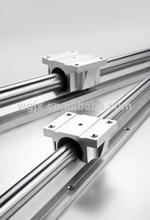 Dual shaft rail linear guide rail