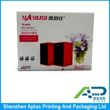 Customized corrugated paper speaker packing box, corrugated cardboard box, cardboard packaging box