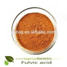 High quality HAY fulvic acid powder organic fertilizer for agriculture grade /industry grade