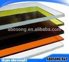 clear PMMA acrylic sheet/chunk/plate
