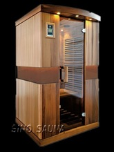 2 person dry wood house romania with low EMF carbon heater panel