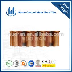 Nuoran decorative ridge tiles/pvc roof shake/colored shingles metal steel roof