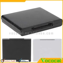 A2DP Wireless Bluetooth Music Audio Receiver Adapter for Apple Ipad iPod iPhone 30 Pin Dock Speaker