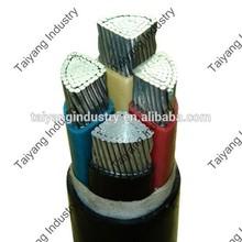 0.6/1kv 4core 95mm2 pvc aluminum power cable
