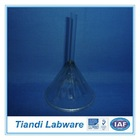Corrugated Funnel Short Stem Approx 60 Degrees, Laboratory Glassware