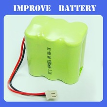 7.2v aaa 800mah ni-mh battery pack