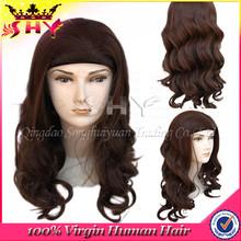 2015 hot selling jewish wig european hair band fall wigs