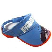 wholesale uv plastic high quality sun visor caps