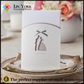 luxo de papel clássico de casamento convite de cartão