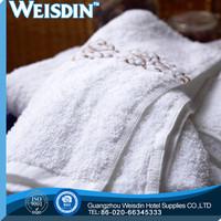 gift wholesale 100% organic cotton terry towel weaving loom