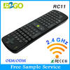 RC11 Air Mouse 2.4GHz Wireless English Keyboard with Gyroscope