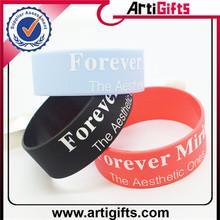 Hot sale custom buy rubber wristbands online