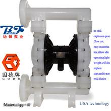 QBY3-80/100 double air diaphragm pump in PP