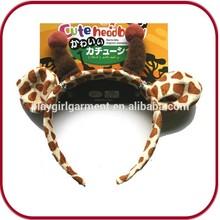 carnival headdress plastic animal ears headband PGHD-0061