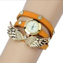 New design women vintage cow leather strap watches,set auger rivet bracelet women dress watches,women wristwatches