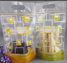 Hot Sales Vietnam Transparent Ldpe Bread Bag,Blocked Head Bag Printed 1 Color 1 Side