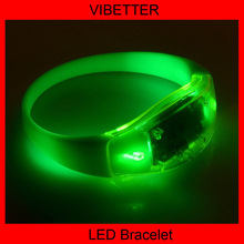 Fashion wedding gifts for guest souvenirs led silicone bracelet