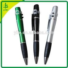 JD-CN19 2014 new plastic logo ballpoint laser light pen