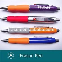 Metal Click Pen,Click OPen Metal Pen With Rubber Grip
