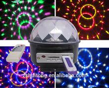 led ışık mp3 18W disko topu ışık 12v