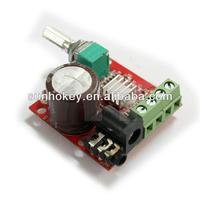 Mini Digital Amplifier Module 10W 10W Class D 2 Channel Audio Amp DIY DC 12V