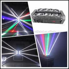 Christmas hot selling 8pcs 10W high power moving head led effect light