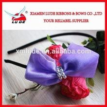 Fashion Polyester Ribbon Baby Headbands