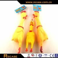 cartoon toy vinyl toys classic toy chicken, shrilling chicken