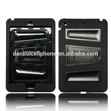 for ipad mini 3 heavy duty case ,case for ipad mini3 rugged case with kickstand