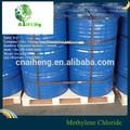 Tambor de acero fino cloruro de dichloromethane solvente precio