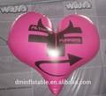 venda quente inflável balão formato de coração