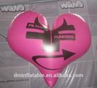 hot selling inflatable heart shape balloon