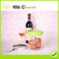 Microondas / nevera / lavavajillas con bomba al vacío de alimentos frasco de plástico transparente
