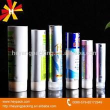 difference size wth flip cap aluminum tube