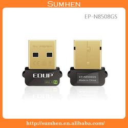 USB 2.0 150M Wireless N WiFi Wireless Network Card 802.11n Adapter EP-N8508GS