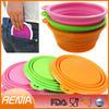 RENJIA folding dog bowls,dog travel bowl,custom dog bowl