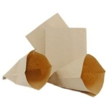High quality wax coated paper bag food