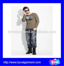 Wholesale fashion style Clothing Manufacturer Mens Long sleeve T-shirt