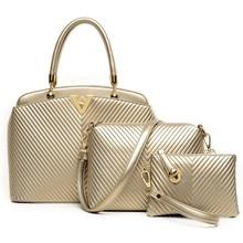 2015 Fashion 3pcs set bag Lady handbag online shopping